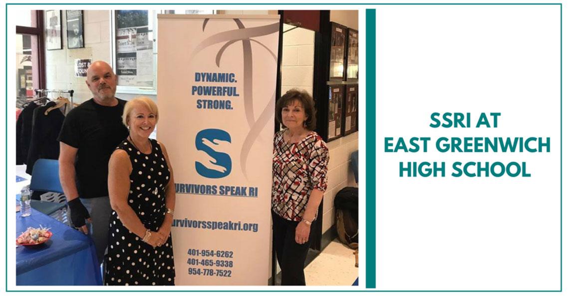 SSRI At East Greenwich High School Health Fair